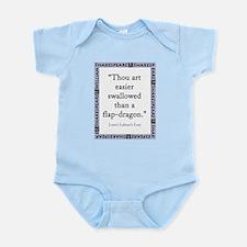 Thou Art Easier Swallowed Infant Bodysuit