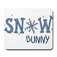 Snow Bunny Mousepad