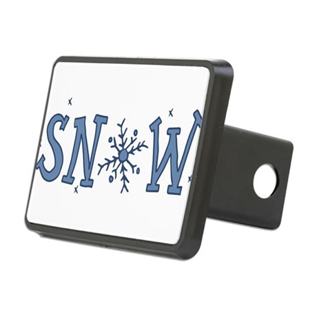 Snowflake Rectangular Hitch Cover