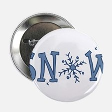 "Snowflake 2.25"" Button"