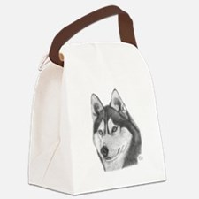 Siberian Husky Canvas Lunch Bag