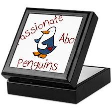 Passionate Penguin Keepsake Box