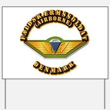 Airborne - Denmark Yard Sign