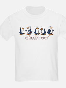 Chillin Out Penguins T-Shirt