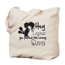 Lupus Picked Wrong Diva Tote Bag