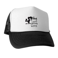 Lupus Picked Wrong Diva Trucker Hat