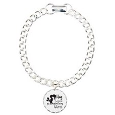 Lupus Picked Wrong Diva Charm Bracelet, One Charm