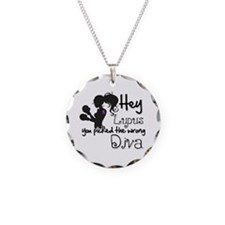 Lupus Picked Wrong Diva Necklace