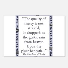 The Quality of Mercy Postcards (Package of 8)