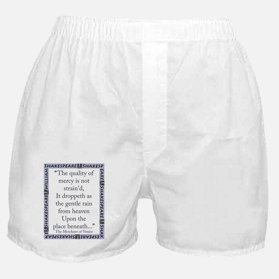 The Quality of Mercy Boxer Shorts