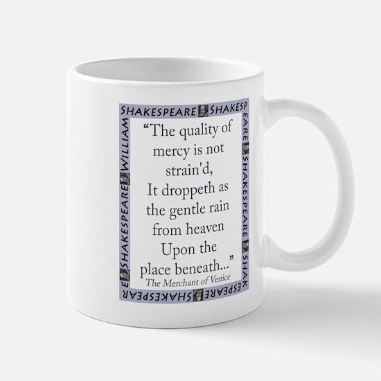 The Quality of Mercy Mug