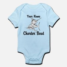 Custom Charter Boat Infant Bodysuit