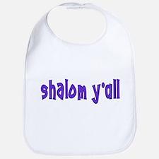 Jewish shalom y'all Bib