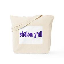 Jewish shalom y'all Tote Bag