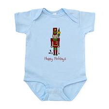 Holiday Nut Cracker Infant Bodysuit