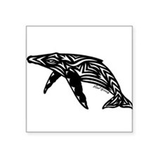 Humpback Whale Rectangle Sticker