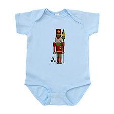 Christmas Nut Cracker Infant Bodysuit