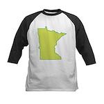 Minnesota Symbol Kids Baseball Jersey