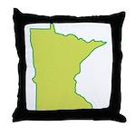 Minnesota Symbol Throw Pillow