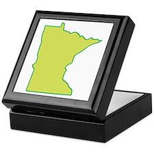 Minnesota Symbol Keepsake Box
