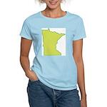 Minnesota Symbol Women's Pink T-Shirt