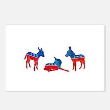Dem Donkeys Postcards (Package of 8)