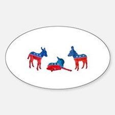Dem Donkeys Decal