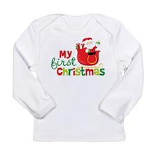 Santa My 1st Christmas Long Sleeve T-Shirt