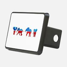Republican Elephants Hitch Cover