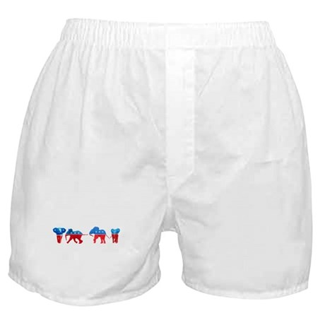 Republican Elephants Boxer Shorts