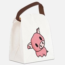 Piggy.png Canvas Lunch Bag