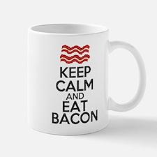 keep-calm-bacon-funny-eat Mug
