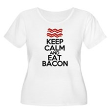 keep-calm-bacon-funny-eat T-Shirt