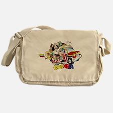 Colombian Chiva Messenger Bag