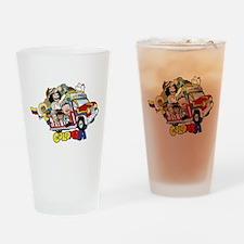 Colombian Chiva Drinking Glass