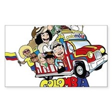 Colombian Chiva Decal