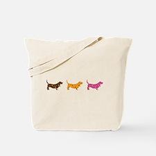 Samba Bassets Tote Bag