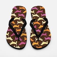 Samba Bassets Flip Flops