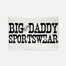 BIG DADDY FOOTBALL Rectangle Magnet