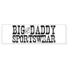 BIG DADDY FOOTBALL Bumper Bumper Sticker