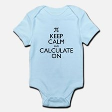 Keep Calm and Calculate On Infant Bodysuit