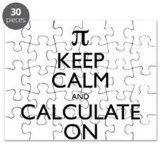 Keep Calm and Calculate On Puzzle