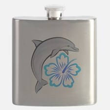 Dolphin-flower-blue.png Flask