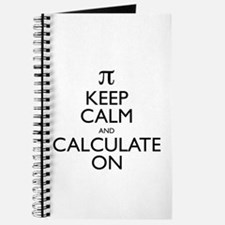 Keep Calm and Calculate On Journal
