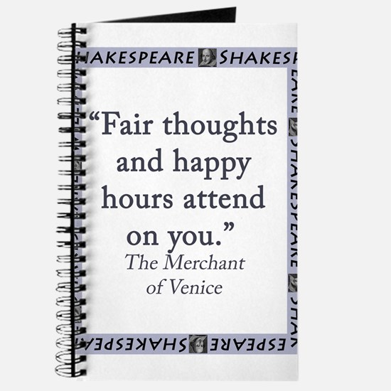 Fair Thoughts and Happy Hours Journal