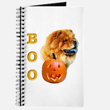 Halloween Chow Chow Boo Journal