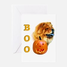 Halloween Chow Chow Boo Greeting Cards (Package of