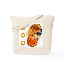Halloween Chow Chow Boo Tote Bag