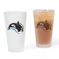Orca Trainer Drinking Glass