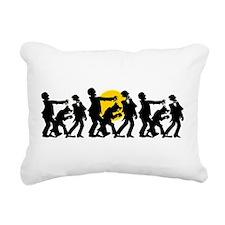 Zombie Halloween Rectangular Canvas Pillow